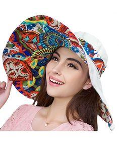 42f161b8 Women's Reversible Foldable Floppy Sun Hat With Wide Brim UPF 50+ Beige  C1182Q0WOWI
