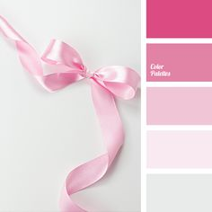 """""""baby pink"""" color, bright pink, color palette, color solution, dark pink, gray, light pink, lilac, magenta pink, pale gray, pale pink, selection of colors, shades of pink."""