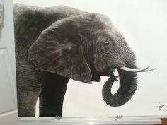Scratchboard Scratchboard Art, Elephant, Animals, Animales, Animaux, Elephants, Animal, Animais