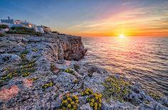 Sunrise over Cala Ferrera