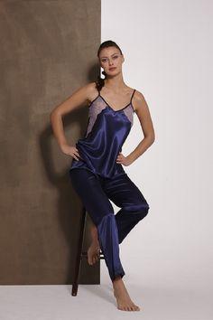 JOVEN - CATALOGO - Nansú - Lencería de Calidad  lingerie  lenceria  blue   satin 9c1eb76a960d