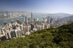Take the tram to the top of Victoria Peak and walk the two-mile Lugard Road along the summit, with panoramic views of remarkably green Hong Kong.
