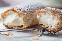 Laduree vanilla eclairs.