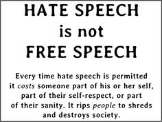why free speech should be limited