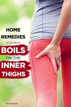 how to get rid of boils on your bum