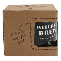 Wholesale Witches brew boxed mug - Something Different