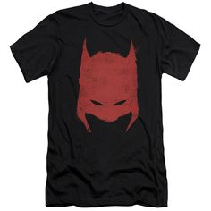 BATMAN/HACKED & SCRATCHED - S/S ADULT 30/1 - BLACK -