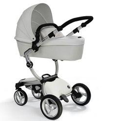 White Bugaboo Stroller