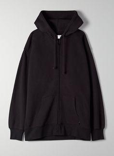 Black Zip Hoodie, Black Hoodie Outfit, Grey Hoodie, Look Fashion, Fashion Outfits, Zip Up Hoodies, Sweatshirts, Black Zip Ups, Zip Up Sweater
