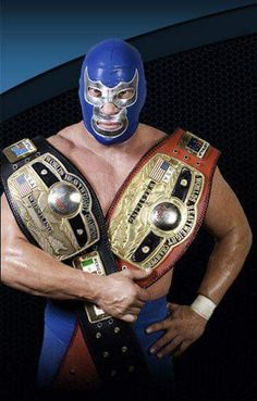 Lucha Underground, Blue Demon Jr, Mexican Wrestler, Mexican Mask, Wrestling Superstars, Masked Man, Professional Wrestling, Mexican Style, Judo