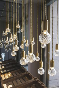 70percentpure: milan design week 2013 // crystal bulb by Lee Broom