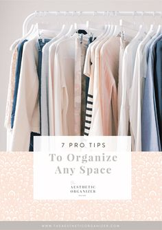 """Once you've narrowed down your inventory, make a game plan for how you'll set up your space. Choosing the right organization solutions can be a game changer— they'll maximize the space you have and give each item a """"home."""" Be sure to measure your space (it doesn't hurt to do this twice!) and choose an aesthetic that matches your home. The Container Store is an excellent resource for finding all kinds of products and solutions! #linenstoragebin #professionalorganizer #capsulecollection Wardrobe Organisation, Linen Closet Organization, Closet Storage, Bathroom Organization, Organization Hacks, Beautiful Closets, Make A Game, Small Space Solutions, Container Store"""