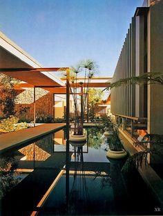 1963, mariner's medical arts building - richard neutra. Repinned by Secret Design Studio, Melbourne. www.secretdesignstudio.com