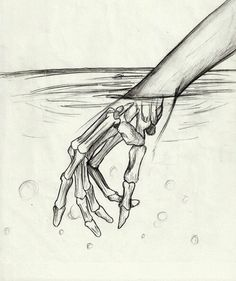 """You never truly know what your future holds for you.... Until you stick your hand in a pool of water"""