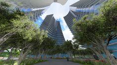 Triple Towers Concept Design 3dsmax+Lumion