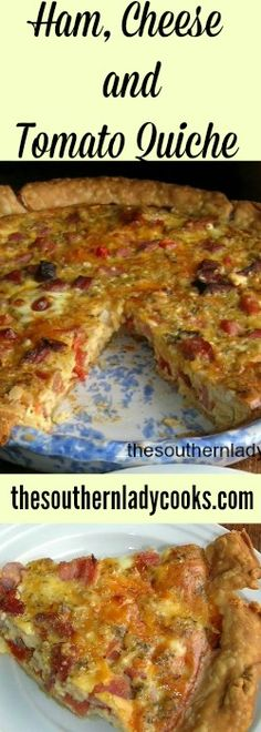 This quiche is good for breakfast, brunch, lunch or dinner. The spices and fresh tomato really give it a great flavor. It could also be made with sausage. This easy recipe will become a favorite. …