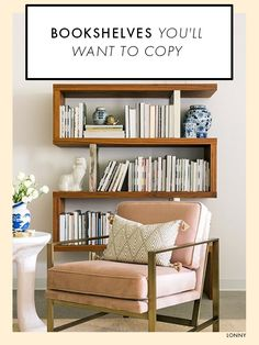 20 Bookshelves Youu0027ll Want To Copy ASAP