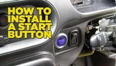 How to Install A Start Button to your car step by step DIY tutorial instructions, How to, how to make, step by step, picture tutorials, diy instructions, craft, do it yourself