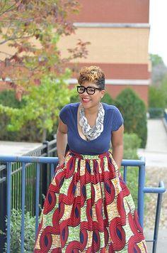 African print fashion by Melange Mode