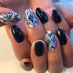 New Year's Nails, Hair And Nails, Nail Art Designs Videos, Nail Designs, Paisley Nail Art, Cute Nails, Pretty Nails, Secret Nails, Bridal Nails