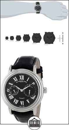 Raymond Weil 2846-STC-00209 Stainless Steel Case Black Leather Strap Men's Watch  ✿ Relojes para hombre - (Lujo) ✿