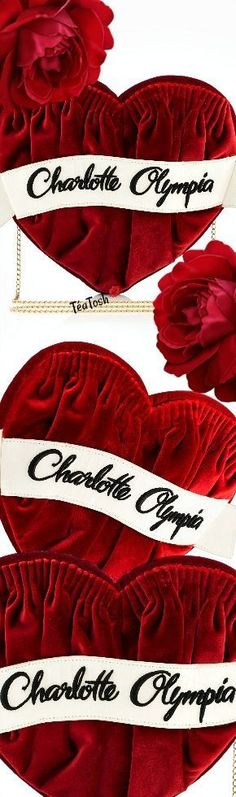 ❈Téa Tosh❈ Charlotte Olympia, The Forever Clutch Bag. Micah Gianneli, Art Of Love, Velvet Fashion, Old Hollywood Glamour, Branded Bags, All Brands, Charlotte Olympia, Color Mixing, Alexander Mcqueen Scarf