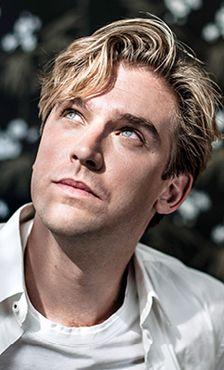 Vogue photoshoot and Man Booker interview | Dan Stevens