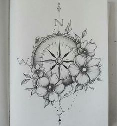 Compass tattoo #TattooDesignsArm
