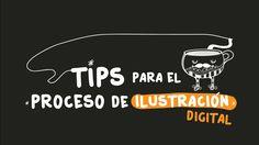 Tips para el proceso de ilustración digital- Andreaga