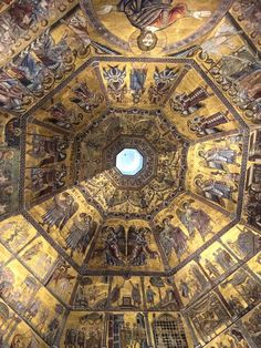 Baptistery ceiling, Florence