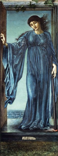 "Pre-Raphaelite Painting: ""Night,"" by Edward Burne-Jones (1833 – 1898). #Pre-Raphaelite."