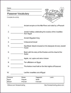 http://homeschooling.about.com/od/holidays/ss/passoverprint_2.htm