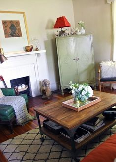 House Tour: A Vintage Boho Styled Bungalow | Apartment Therapy