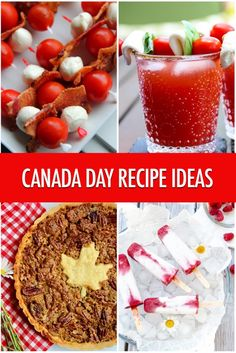 Oh Canada! Canada Day Recipe Ideas Oh Canada: Canada Day Recipe Ideas Canadian Cuisine, Canadian Food, Canadian Recipes, Canadian Dishes, Canada Celebrations, Canadian Party, Canada Day Party, Canada Holiday, Happy Canada Day
