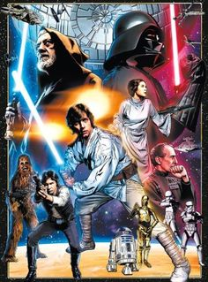 STAR WARS 1000pc Vintage Art: The Circle Is Now Complete Puzzle