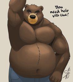 Bear warrior WIP by Dj-Rodney on DeviantArt Male Furry, Furry Art, Dream Daddy Fanart, Bear Drawing, Sketchbook Pro, Bear Illustration, Daddy Bear, Bear Cartoon, Bear Art