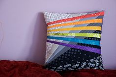 Back of a pillow | by Sewing Under Rainbow