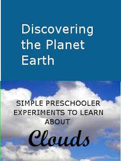 This is part two of the Discovering the planet Earth series. We are learning about the clouds. It includes experiments like evaporation, making the rain drop, how it rains? Why are rain clouds dark? All in a preschooler friendly way.