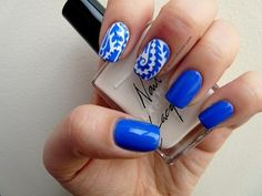 Blue And White China Print Nails Pictures, Photos, and Images for ...