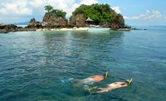Phuket Diving, Thailand - Water between April and October, are very suitable for diving.