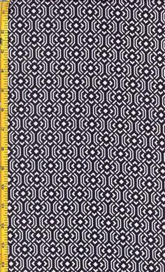 Japanese Print: Diagonal-Squares-Indigo