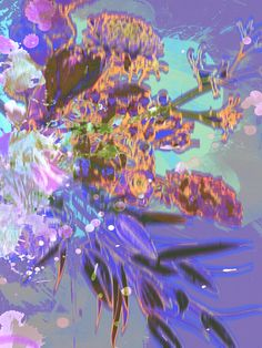 Ongoing series. Title: FLOWERS NR201316. Technique: traditional and digital media. Size: 8 variable sizes from 60x45cm (min) to 200x150cm (max). Edition: 5. High quality fine art inkjet print. Price: depending on size, on request. www.georgevanuden.nl. © George van Uden