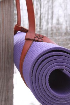 Hey, I found this really awesome Etsy listing at https://www.etsy.com/ca/listing/178017304/yoga-mat-strap-leather-yoga-mat-sling-in
