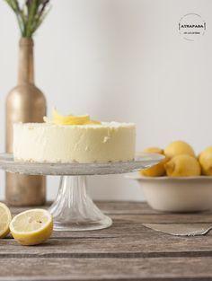 Tarta de queso y limón, sin horno