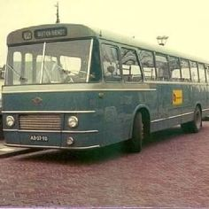 Oude West Nederland bus