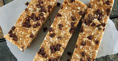 PB2 Quinoa Granola Bars --- These are delicious!  You may eat them all in one sitting!
