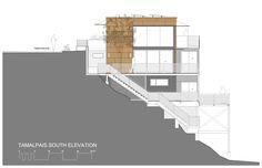 Imagem 36 de 38 da galeria de Residência Tamalpais / Zack de Vito Architecture + Construction. Fachada Sul