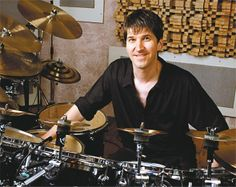 Chad Wackerman - drums. Chad auditioned for Frank Zappa in 1981.