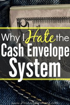 Have you tried spending cash instead of swiping plastic to stay on budget? We tried the cash envelope method that Dave Ramsey recommends— I was really surprised by our results and how much I disliked spending cash.