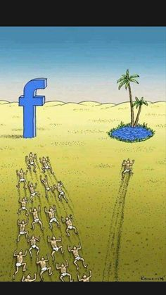 Social Art, Social Media, Facebook Jokes, Facebook Users, Pictures With Deep Meaning, Satirical Illustrations, Art Illustrations, Meaningful Pictures, Hilarious Pictures